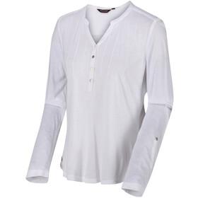 Regatta FFlur Maglietta a maniche lunghe Donna, white